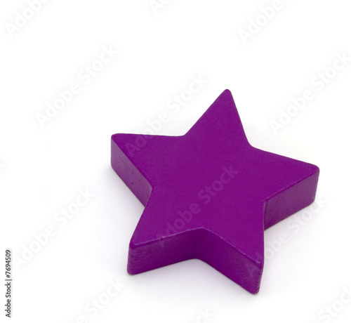 Toy shapes - Purple Star