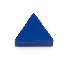 Toy shapes - Blue Triangle