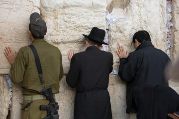 Jerusalem wishes in Western Wall
