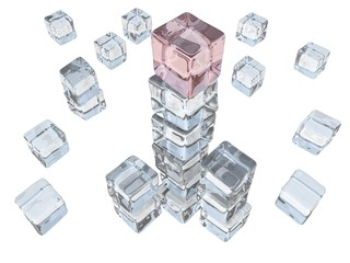 Ice Cube Tower