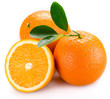Leinwanddruck Bild - orange