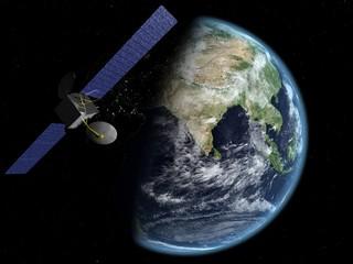 satellite inde nuit