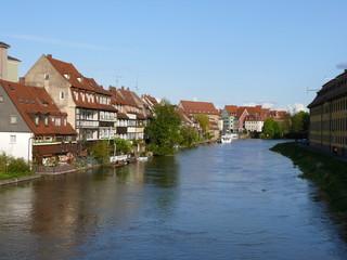 Bamberg - Blick auf die Regnitz