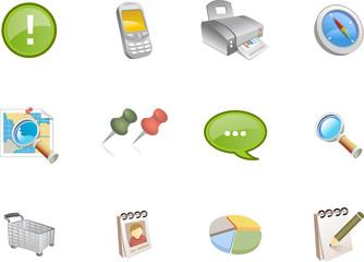 web and application icon - varico set 3