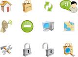 Fototapety web and application icon - varico set 5
