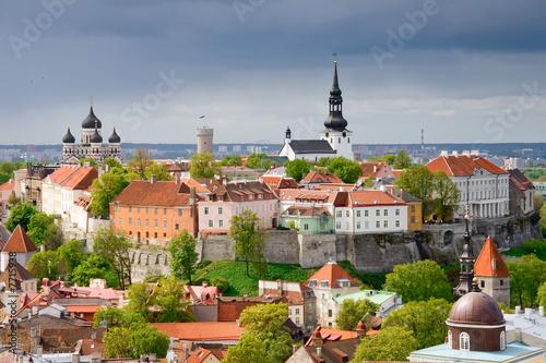 Tallinn. Wzgórze Toompea