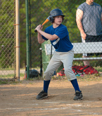 Baseball Player Swinging Bat 2