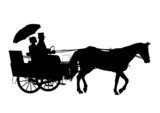 Horse And Carriage poster