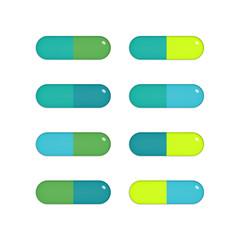 Eight capsules