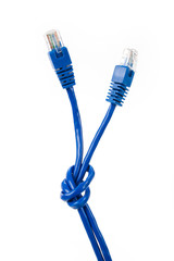 Blue Computer Cable