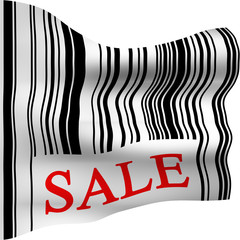 Sale Barcode Flag
