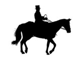 Man Riding Horse poster