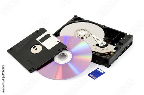 digital data storage - 7734545