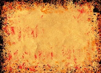 Grunge background - ideal for autumnal themes