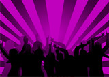 Purple Disco Dancers poster