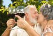 Wine tasting and kisses