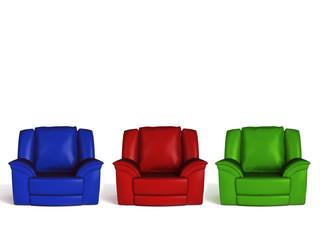 3  armchairs