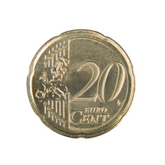 Twenty Euro Cent Coin