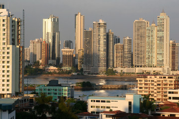 Panama City Skyline View, Panama