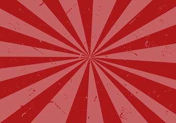 Fond rayé (rouge et rose) / Aspect abimé, vieilli, grunge