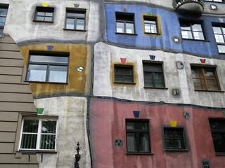 maison de Hundertwasser de Vienne