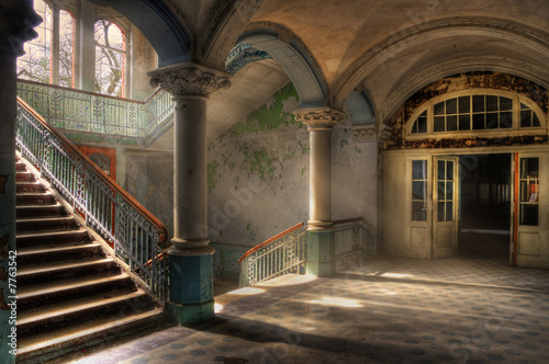 canvas print picture Beelitz Heilstätten 3