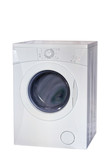 Washing machine with clipping path
