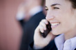 businesswoman call