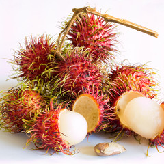Bunch of Rambutans