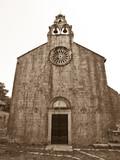 Catholic monastery poster