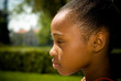 Young African American Girl'S Profile