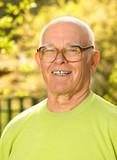 Fototapety Happy elderly man outdoors