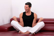 kraft meditation mann