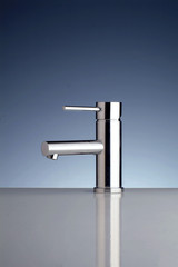 rubinetto in acciaio