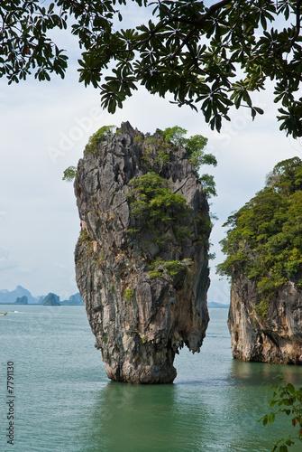 Obraz na Plexi James Bond (Ko Tapu) island