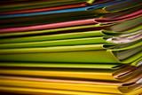 dossier administratif bureau contrat chemise dossier démarche pa poster