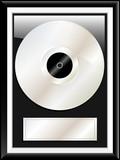 Platinum disc award poster