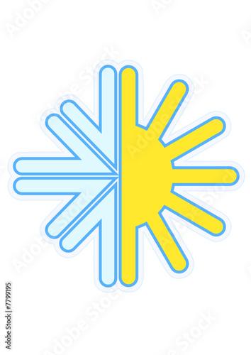 Symbole de la climatisation (détouré)