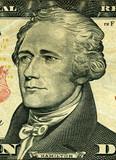portrait of president Hamilton poster