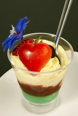 dessert pour son amoureuse