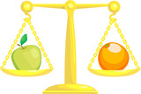 Balancing Or Comparing Apples With Oranges poster