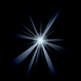 Abstract Lens Flare poster