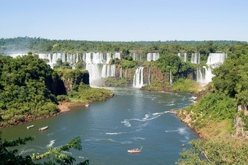 Iguazu Falls, the most visited place in Argentina