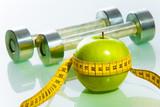 Fototapety Fitness objects