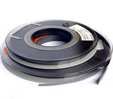 Magnetic tape reels for data storage poster