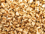 Wheat cereal flakes expanded granules  poster