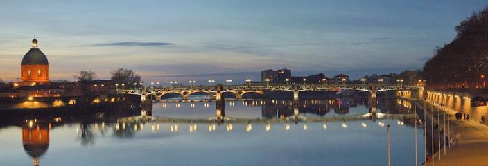 panorama du pont saint pierre