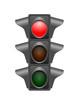 Feux de signalisation - rouge