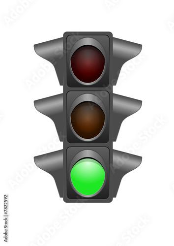 Feux de signalisation - vert