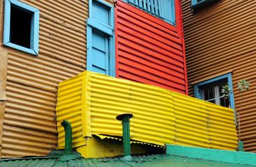 Coloured contrasts of caminito